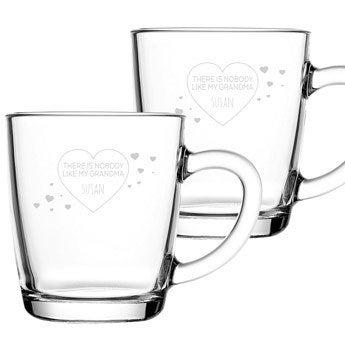 Grandma tea glasses (2 pieces)