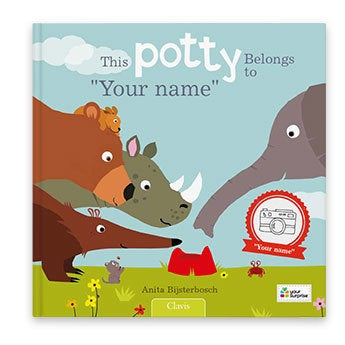 This potty belongs to.. (hardcover)