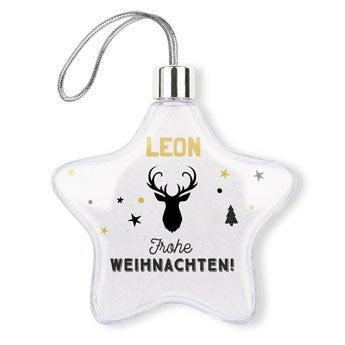 Weihnachtsschmuck - Stern (2)