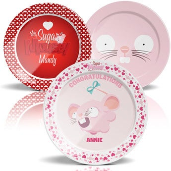 Sugar Mousey plate