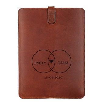 Skórzane etui na iPada Mini 2 - brązowe