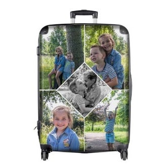 Princess Traveller matkalaukku kuvalla XXL