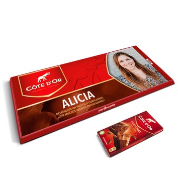 Barra de chocolate gigante Côte d'Or