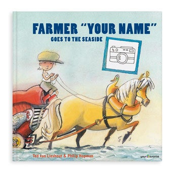 Farmer Boris is going to the seaside - Hardcover