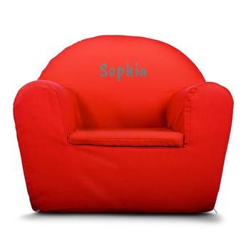 Cadeira Infantil - Vermelho