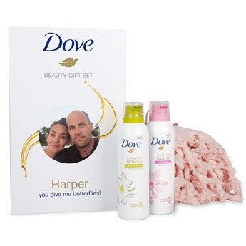 Zestaw Dove z ręcznikiem