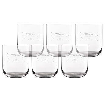 Waterglas deluxe (6 stuks)