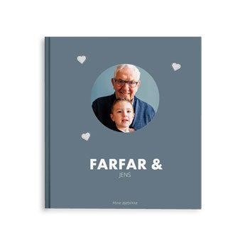 Billedalbum – Bedstefar og mig/os – M – HC (40)