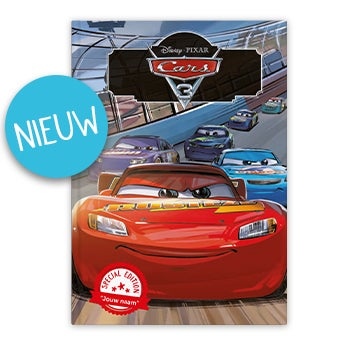 Disney Cars 3 - XL boek