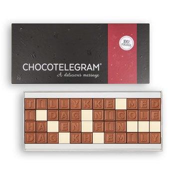 Chokolade telegram - 48 tegn