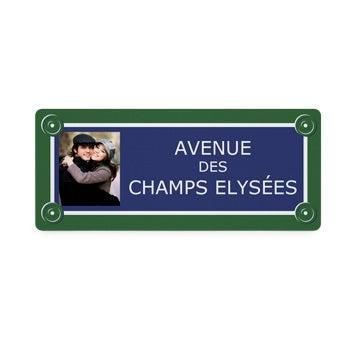 Plaque de rue - Petite