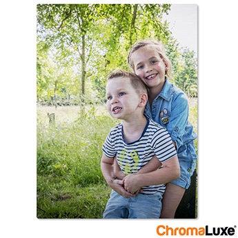 Chromaluxe Aluminium photo - Brushed - 15x20cm