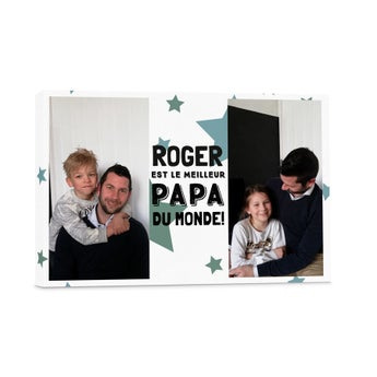 Photo sur toile - Fête des Pères