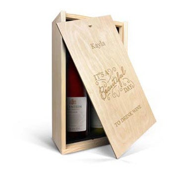 Salentein - Pinot Noir and Chardonnay - In engraved case