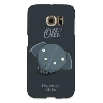 Olli - Galaxy S6 edge - foto case rondom bedrukt