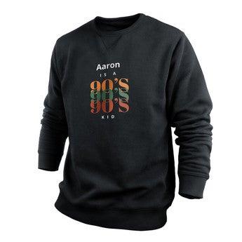 Custom sweatshirt - Men - Black - XL