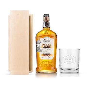 Peaky Blinders whisky sæt