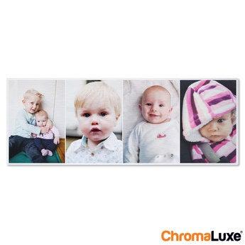 Chromaluxe Aluminium photo - Brushed - 80x30cm