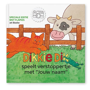 Dikkie Dik XXL flapjesboek - Verstoppertje