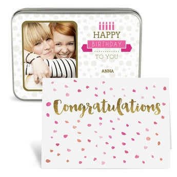 Personalised gift voucher