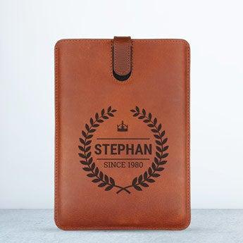 iPad Mini 3 leather case - Brown