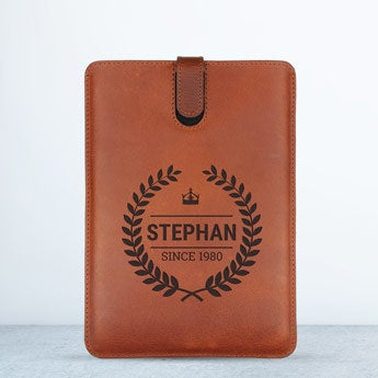 iPad Mini 3 leather case - Brown