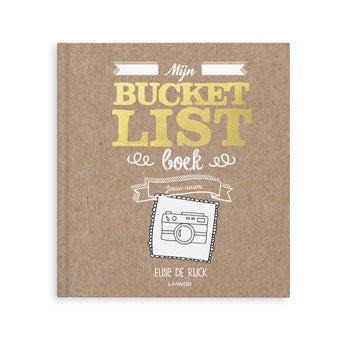 Mijn Bucketlist boek - SC