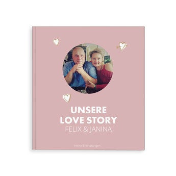 Fotobuch - Unsere Love Story