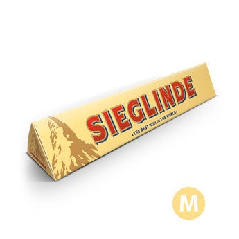 Toblerone Riegel - Muttertag