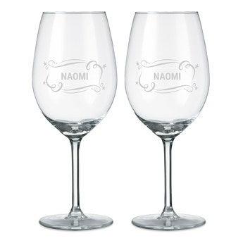 Wijnglas - Rode wijn (2 stuks)