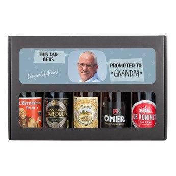 Zestaw prezentowy do piwa - dziadek (belgijski)