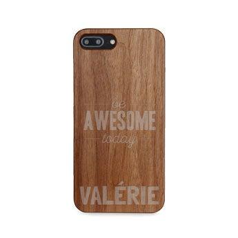 Coque en bois iPhone 8 plus