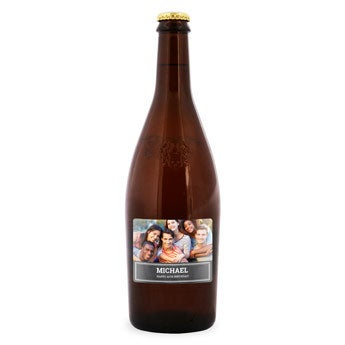 Duvel Moortgat - personalized label
