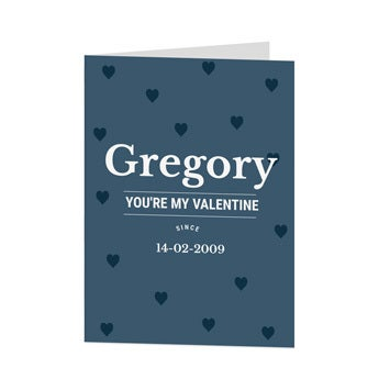 Valentine's Day card - XL - Vertical