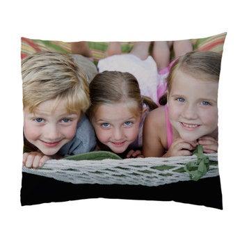 Pudebetræk med foto - 60x70cm - polyester