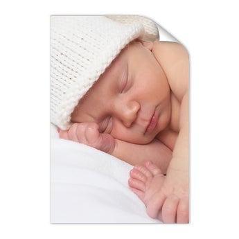 Fødselsplakat - 50 x 75