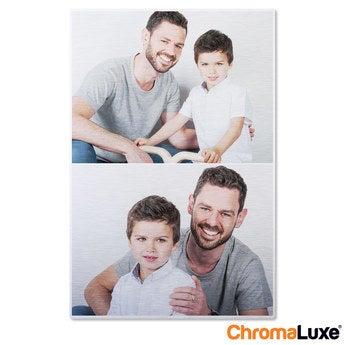 Chromaluxe Aluminium photo - Brushed - 50x75cm