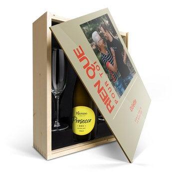 Riondo Prosecco Spumante - Couvercle imprimé