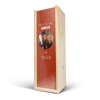 Wooden case - Deluxe - Single