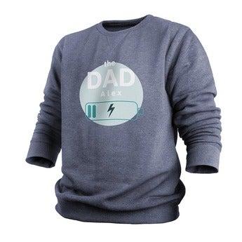 Custom sweatshirt - Menn - v - M