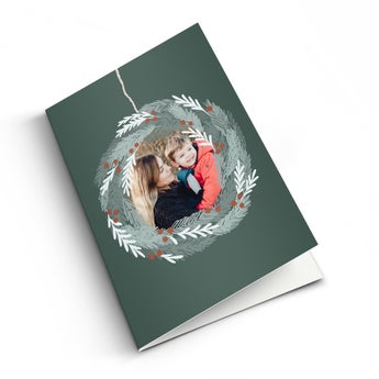 Personalised card - Christmas - XL - Vertical
