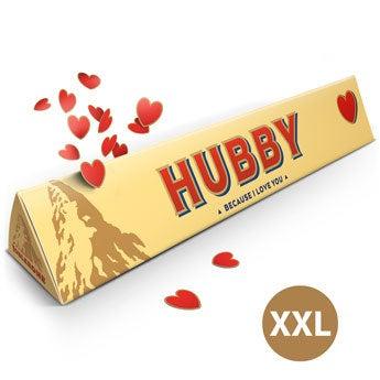Toblerone XXL liefdesreep - Super size!