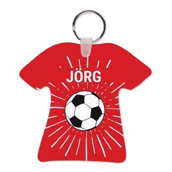 WM-Schlüsselanhänger - Fußballtrikot