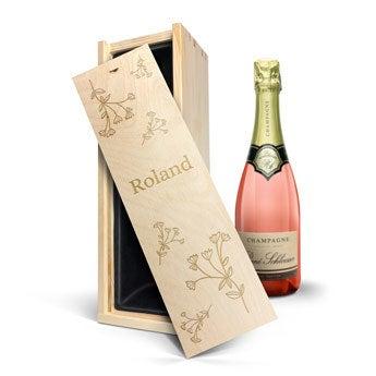 René Schloesser Rosé 750 ml - In gravierter Kiste