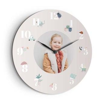 Zegar dla dzieci - duży - okrągły