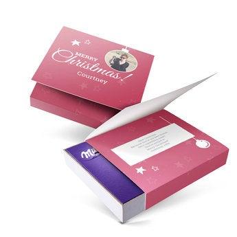 I love Milka! gift box - Christmas (220gram)