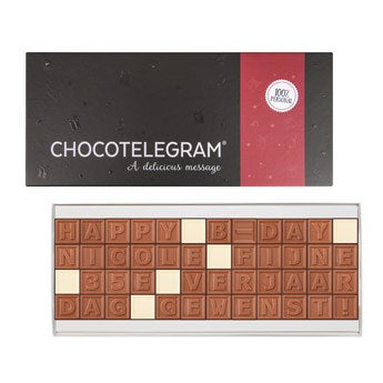 Chocotelegram - 48 letters