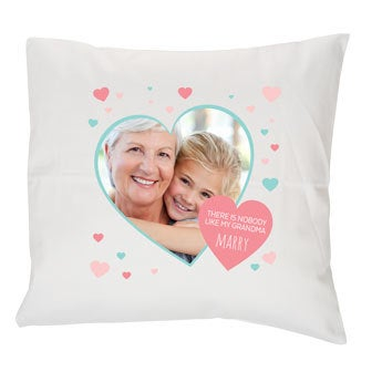 Grandma photo cushion