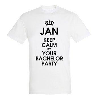 T-Shirt Herren - Weiß - L