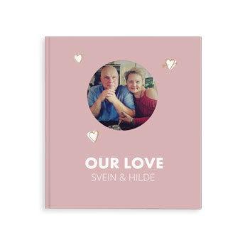 Fotobok - Vår kjærlighet - M - Hardback (40)